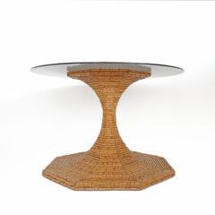 Vivai del Sud Vivai del Sud Bamboo dining table Italy 1970s - 754866