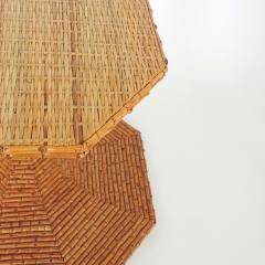 Vivai del Sud Vivai del Sud Bamboo dining table Italy 1970s - 754878