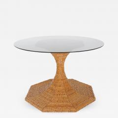 Vivai del Sud Vivai del Sud Bamboo dining table Italy 1970s - 755132