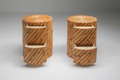 Vivai del Sud Vivai del Sud pair of side tables 1970s - 1440602