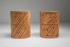 Vivai del Sud Vivai del Sud pair of side tables 1970s - 1440617