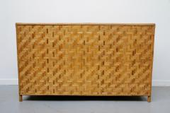 Vivai del Sud Woven bamboo sideboards Italy 60s - 1678493