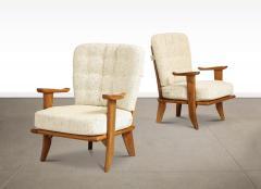 Votre Maison Pair of Lounge Chairs by Guillerme Chambron for Votre Maison - 1833226