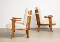 Votre Maison Pair of Lounge Chairs by Guillerme Chambron for Votre Maison - 1833227