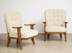 Votre Maison Pair of Lounge Chairs by Guillerme Chambron for Votre Maison - 1833228