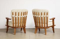 Votre Maison Pair of Lounge Chairs by Guillerme Chambron for Votre Maison - 1833231
