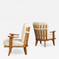 Votre Maison Pair of Lounge Chairs by Guillerme Chambron for Votre Maison - 1834297