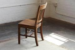 w.h. gunlocke chair co. - 1920s solid oak office chairw.h.