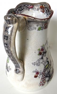 W J Butterfield Mid Size Ironstone Pitcher by W J Butterfield England Circa 1855 - 997904