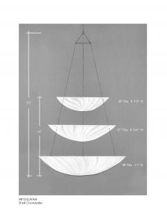 W P Sullivan Inc The Shell Chandelier by WP Sullivan - 198284