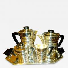 WMF Art Deco Modernist Coffee Tea Service - 125352