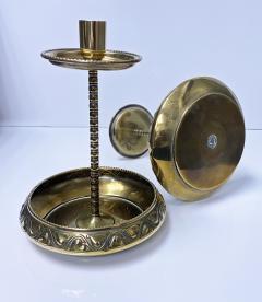 WMF W rttembergische Metallwarenfabrik W M F Pair WMF Brass Arts Crafts Candlesticks C 1900 - 1968460
