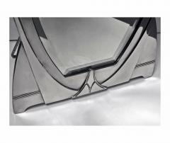 WMF WMF Art Nouveau Jugendstil Secessionist Large Silver Plate Mirror Germany - 534594