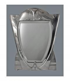 WMF WMF Art Nouveau Jugendstil Secessionist Large Silver Plate Mirror Germany - 534595