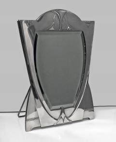 WMF WMF Art Nouveau Jugendstil Secessionist Large Silver Plate Mirror Germany - 534596