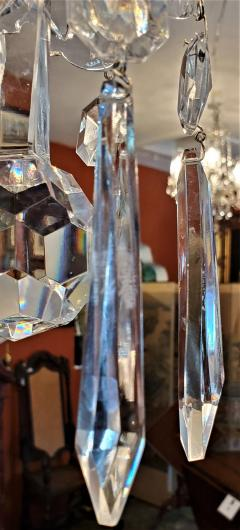 Waterford Pair of Waterford Crystal Avoca 10 Arm Chandeliers - 1795773