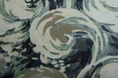 Waves Silver Leafed Print in Acrylic Box - 530256