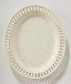 Wedgwood 3 Wedgwood Creamware Serving Bowls with Matching Platters - 1786915
