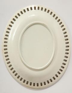Wedgwood 3 Wedgwood Creamware Serving Bowls with Matching Platters - 1786918