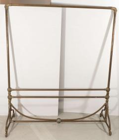 Wegmo Wegmo Art Nouveau Brass Clothing Rack 3 Rue Quituot Lyon France - 1045652