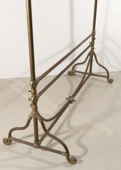 Wegmo Wegmo Art Nouveau Brass Clothing Rack 3 Rue Quituot Lyon France - 1045656