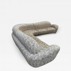 Weiman Mid Century Modern Curved and Sculptural Sectional Serpentine Sofa by Weiman - 1741301