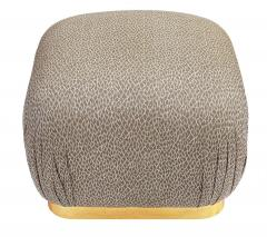 Weiman Pair of Hollywood Regency Poufs or Ottomans after Karl Springer by Weiman - 2059001
