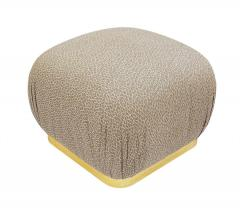 Weiman Pair of Hollywood Regency Poufs or Ottomans after Karl Springer by Weiman - 2059016
