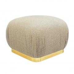 Weiman Pair of Hollywood Regency Poufs or Ottomans after Karl Springer by Weiman - 2059017