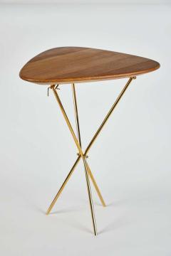 Werkst tte Carl Aub ck Carl Aubo ck Model 3642 Brass and Oak Table - 1576071
