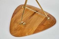 Werkst tte Carl Aub ck Carl Aubo ck Model 3642 Brass and Oak Table - 1576073