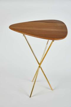 Werkst tte Carl Aub ck Carl Aubo ck Model 3642 Brass and Oak Table - 1576076
