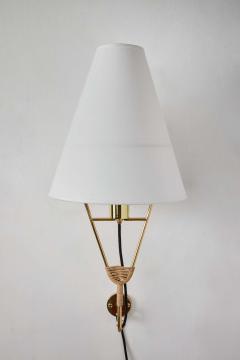 Werkst tte Carl Aub ck Large Carl Aubo ck Vice Versa Wall Lamp - 2039247
