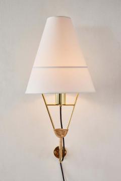 Werkst tte Carl Aub ck Large Carl Aubo ck Vice Versa Wall Lamp - 2039250