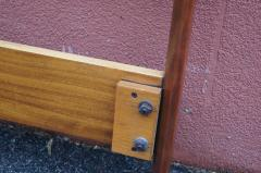 Westnofa of Norway Bookmatched Rosewood and Walnut Queen Headboard by Westnofa - 1181151