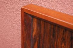 Westnofa of Norway Bookmatched Rosewood and Walnut Queen Headboard by Westnofa - 1181155