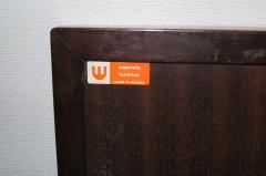 Westnofa of Norway Bookmatched Rosewood and Walnut Queen Headboard by Westnofa - 1181156
