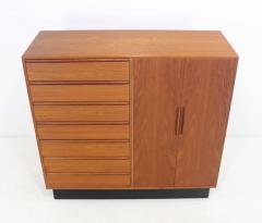 westnofa of norway modern teak gentlemans chest by westnofa