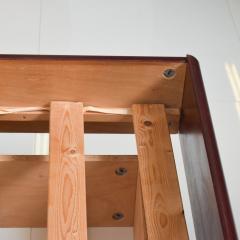 Westnofa of Norway Sleek Danish Modern Rosewood Platform Queen Bed with Floating Nightstands - 1689329