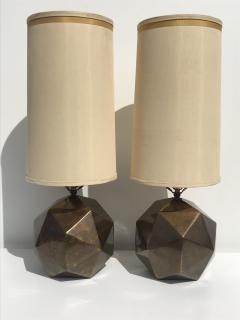 Westwood Industries Pair of Westwood Geometric Sphere Lamps - 530771