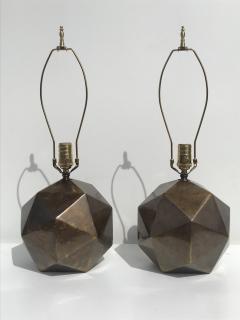 Westwood Industries Pair of Westwood Geometric Sphere Lamps - 530772