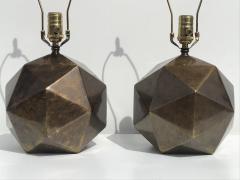 Westwood Industries Pair of Westwood Geometric Sphere Lamps - 530773