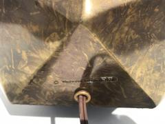 Westwood Industries Pair of Westwood Geometric Sphere Lamps - 530776