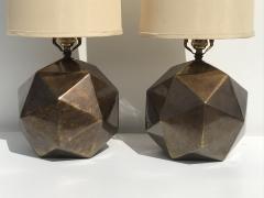 Westwood Industries Pair of Westwood Geometric Sphere Lamps - 530784