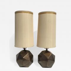 Westwood Industries Pair of Westwood Geometric Sphere Lamps - 532393