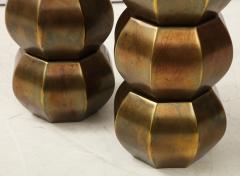 Westwood Industries Rare Pair of Bronzed Sphere lamps by Westwood Industries - 1924118