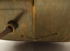 Westwood Industries Rare Pair of Bronzed Sphere lamps by Westwood Industries - 1924121