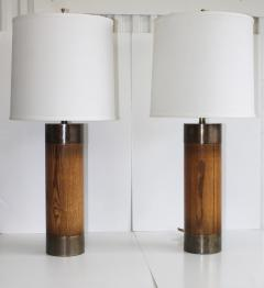 Westwood Industries Westwood Bronze And walnut Large Table Lamps - 767423