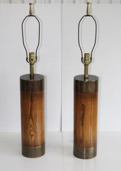 Westwood Industries Westwood Bronze And walnut Large Table Lamps - 767424