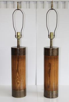 Westwood Industries Westwood Bronze And walnut Large Table Lamps - 767427